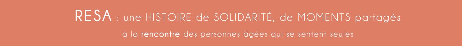 RESA, accueil, solidarité, partage